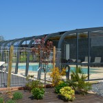 Piscine couverte, chauffée Camping Normandie