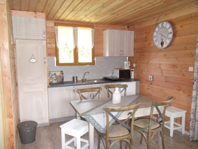 Chalet Cottage 2/6 pers. « Camping Les Pommiers – Eure (27) – Pays d ...